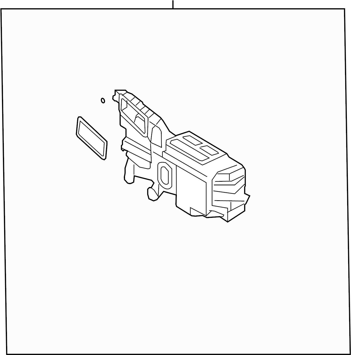 2007 mkx ac diagram 9t4z19b555g ford evaporator and housing assembly  9t4z19b555g ford evaporator and housing assembly