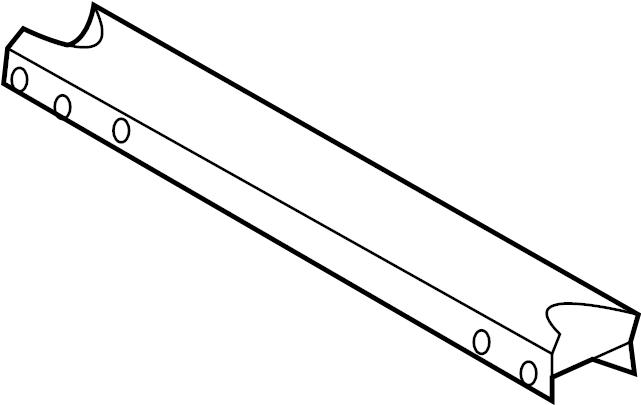 2004 Ford Frame Crossmember  Crossmember  Arm