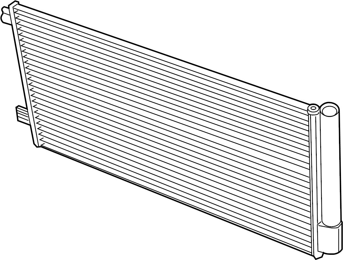 H6bz19712c  C Condenser  Air  Conditioning