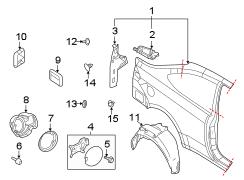 2010 ford focus clip retainer cover boards. Black Bedroom Furniture Sets. Home Design Ideas