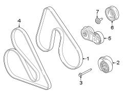 2013       Ford       F      150    Serpentine belt V  belt Water pump belt 50 liter  from 21511 50