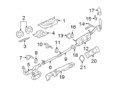 2009 Ford F250    Super       Duty    Manifold Kit Exhaust And  9L3Z9K494A   Lakeland Ford Online Parts