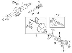 f450 suspension diagram 3c3z4026aa ford differential carrier case 4wd  3c3z4026aa ford differential carrier case 4wd