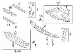 ford edge retainer plate clip fastener shield 2 0. Black Bedroom Furniture Sets. Home Design Ideas