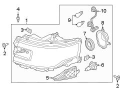 2014 ford flex composite assembly headlamp assembly. Black Bedroom Furniture Sets. Home Design Ideas